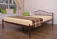 Кровать металлическая двуспальная Лара
