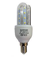 Светодиодная лампа LEDMAX 5Вт 3U5W 4200K E14