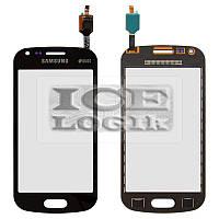 Сенсорный экран для мобильного телефона Samsung S7582 Galaxy Trend Plus Duos, черный