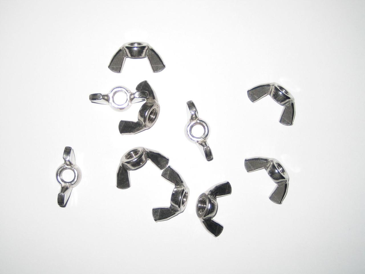 Гайка барашек М12 ГОСТ 3032-76, DIN 315 из нержавеющей стали