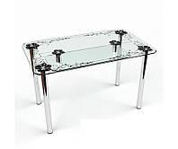 Стеклянный стол Скиф S-2 (Бц-Стол ТМ)