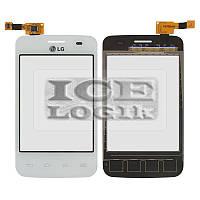 Сенсорный экран для мобильного телефона LG E435 Optimus L3 II, белый