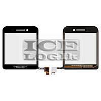 Сенсорный экран для мобильного телефона Blackberry Q5, черный