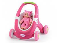Ходунки коляска для ляльки Minikiss Smoby 210201