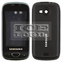 Корпус для мобильного телефона Samsung S5560, high-copy, черный