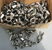 Гайка барашек М6 ГОСТ 3032-76, DIN 315 из нержавеющей стали
