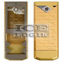 Корпус для мобильного телефона Nokia 7900, high-copy, золотистый