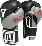 Боксерские перчатки TITLE Boxing Infused Foam Anarchy Training Gloves