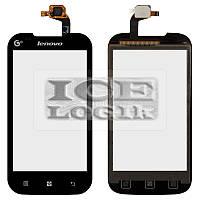 Сенсорный экран для мобильного телефона Lenovo A269, черный