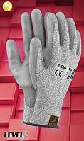 Перчатки защитные с полиуретаном R-CUT3-PU, фото 1