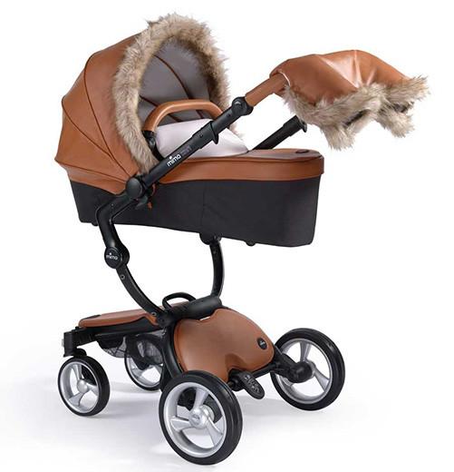 Зимний набор с мехом для коляски Mima