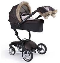 Зимний набор с мехом для коляски Mima, фото 3