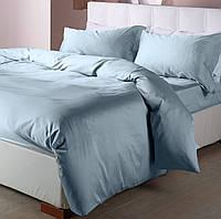 Двухспальный комплект постельного белья сатин однотонный