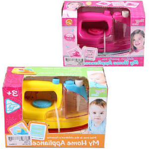 Детский игровой утюг JAMBO JY1033 (розовый и желтый), пластмассовый