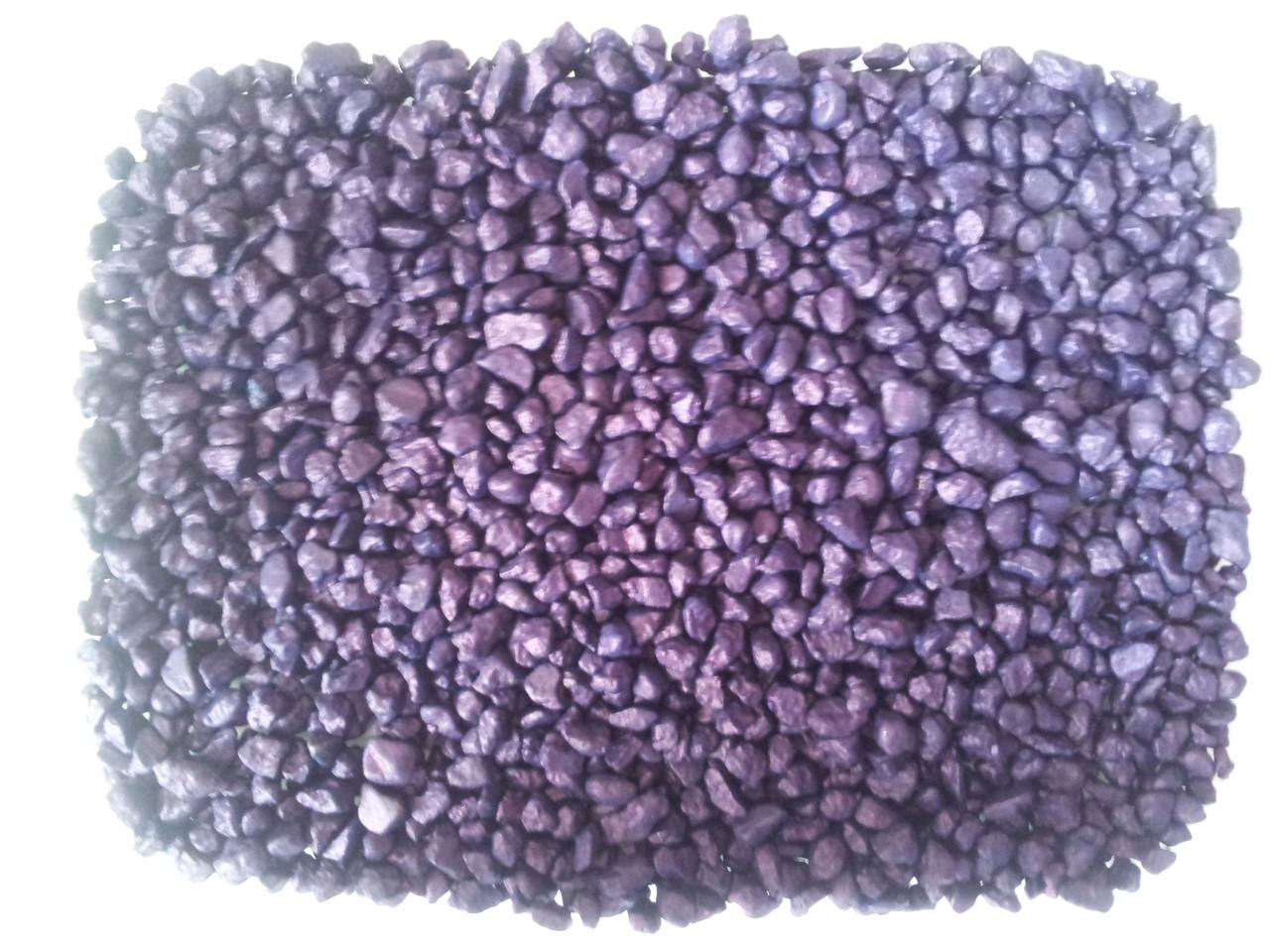 Кварцевый песок цветной V-2 (фиолетовый 1 кг)