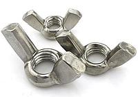 Гайка барашек М20 ГОСТ 3032-76, DIN 315 из нержавеющей стали
