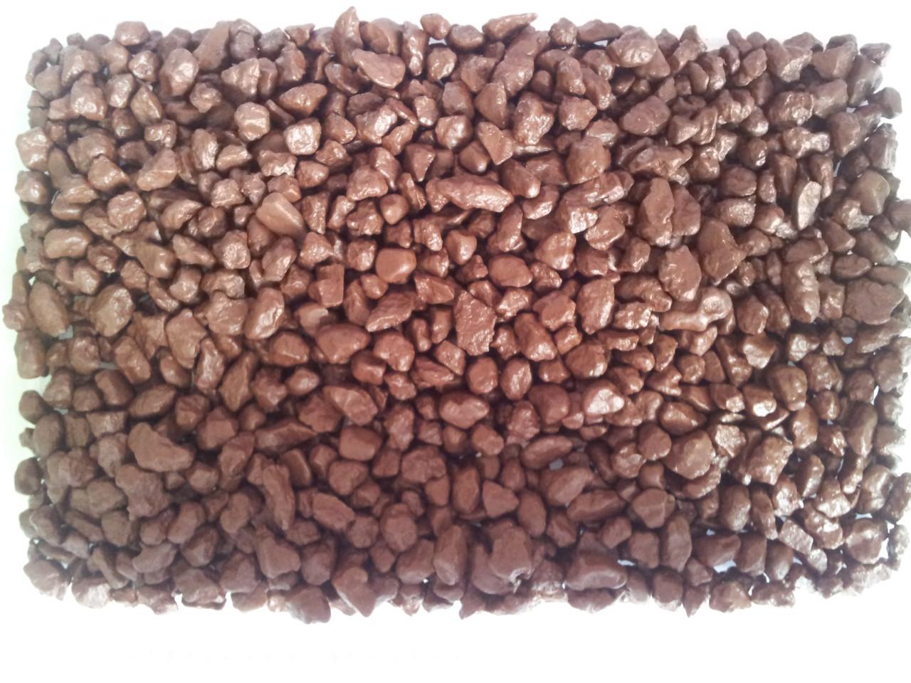 Кварцевый песок цветной V-7 (красно-коричневый 1 кг)