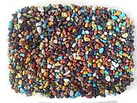 Кварцевый песок цветной V-15 (микс 1 кг)