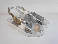 Босоніжки Etor 5358-56153-2 36 сріблясті, фото 1