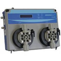 Измерительно-дозирующая станция DOUBLE PH-RX с мембранными насосами 5л/час