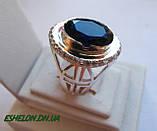 Кольцо серебряное православное Крест 30163, фото 3