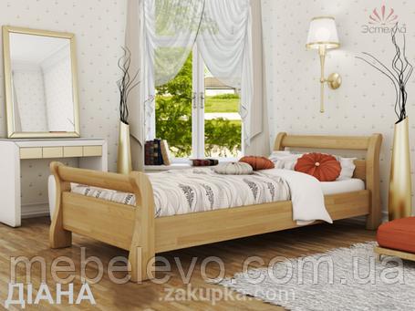Кровать односпальная Диана 80 720х920х2100мм   Эстелла, фото 2