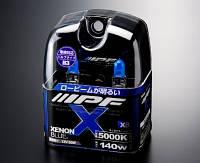 Комплект лампочек IPF X Set H3-12V 140W 5000K Xenon Blue X32
