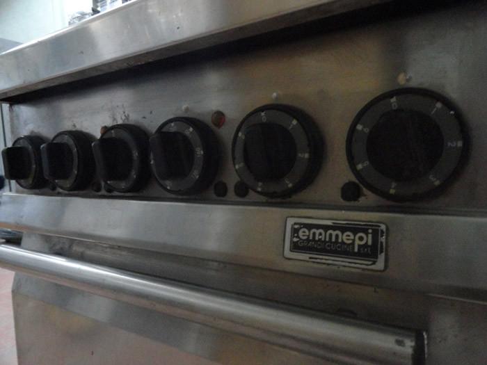 Плита  на 4 конфорки б/у с духовкой Emmepi
