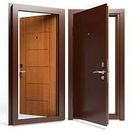 Двери входные Apecs в М/МДФ 960 мм. Золотой дуб