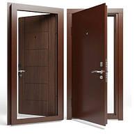 Двери входные Apecs в М/МДФ 960 мм. Орех