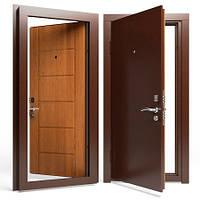 Двери входные Apecs в М/МДФ 860 мм. Золотой дуб