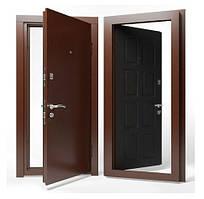 Двери входные Apecs в М/МДФ Премьер 860 мм. Венге