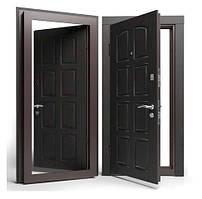 Двери входные Apecs в МДФ/МДФ Премьер 860 мм. Венге
