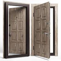 Двери входные Apecs в МДФ/МДФ Премьер 860 мм. Сосна