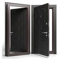 Двери входные Apecs в МДФ/МДФ Премьер 960 мм. Венге
