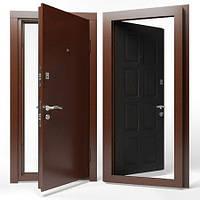 Двери входные Apecs в М/МДФ Премьер 960 мм. Венге