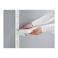 """IKEA """"АЛЬГОТ"""" Полка, белый, 40x18 см"""