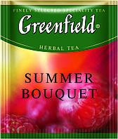 Чай Гринфилд травяной Summer Bouquet 100 пакетиков ХоРеКа