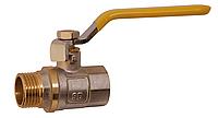 Кран шаровой SD Sandi Plus ручка стальной рычаг РГШ для газа