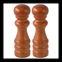 Набор: солонка, мельница для перца, 15 см, древесина, Fackelmann 47271