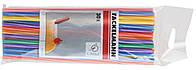 Соломка для коктейля 30 шт., 0.6х24 см, пластик, Fackelmann 54545