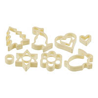 Набор форм для вырезания печенья 8 шт., пластик, Fackelmann 42927