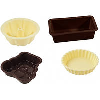 Мини-форма силиконовая для выпечки пирожных, Fackelmann 43560
