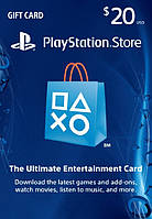 Playstation Network Card 20$ (USA)