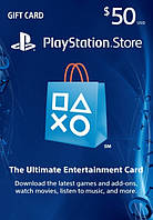Playstation Network Card 50$ (USA)
