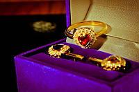Гарнитур кольцо и серьги в Днепропетровске