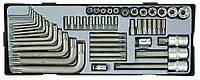 Набор инструмента Torx FORCE T3521 52 пр.