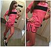 Костюм шорты и футболка лимовка adidas