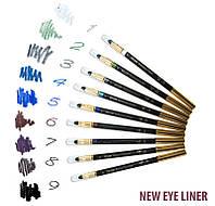 Новый дизайн карандашей для глаз