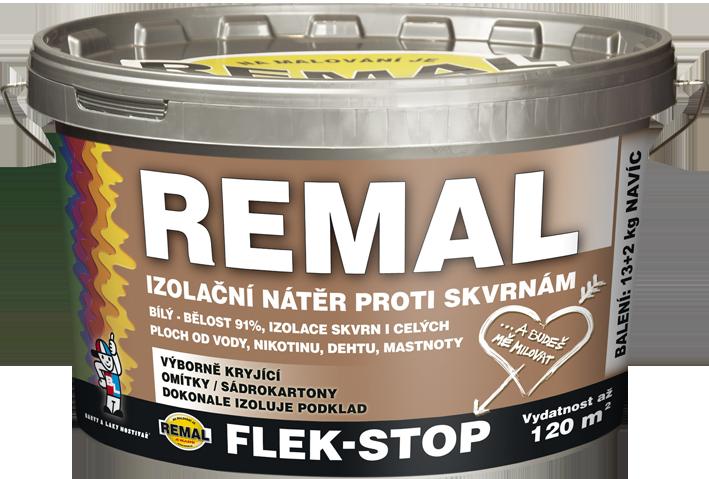 Кроющее грунтовочное покрытие REMAL FLEK - STOP